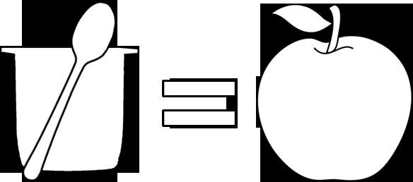 Una tarrina equivale a una ración de fruta