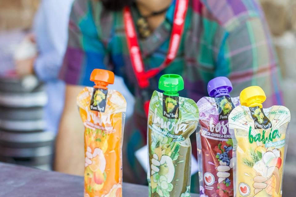 foto festival rueda bcn 2017 y donación de smoothies